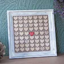 wedding guest book picture frame wedding guest book guest book frame from woodlack on etsy