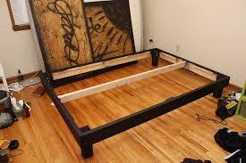 King Bed Frame Heavy Duty Simple Heavy Duty King Bed Frame Vine Dine King Bed Diy Heavy