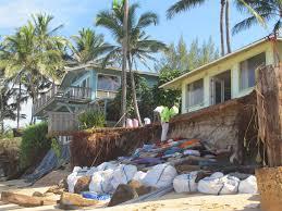 fast moving erosion threatens hawaii coastal homes