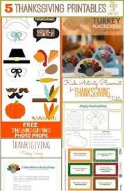brown thanksgiving menu family