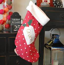 personalised christmas stockings and sacks notonthehighstreet com