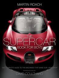 the supercar book for boys martin roach 9780008144128