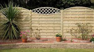 how to fix fence panels on top of a wall best idea garden