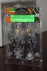 halloween tree decoration set of 6 lemax 42844 black cat skull