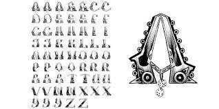 letters bajito onda chicano ole skool temporary tattoo 98 let