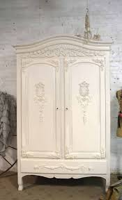 White Armoire Wardrobe Bedroom Furniture by Shabby Chic Armoires