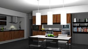 Walk Through Kitchen Designs 3d Visualisation Plot Design