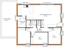 plan de maison plain pied gratuit 3 chambres plan de maison plain pied gratuit 3 chambres sans garage et photo en