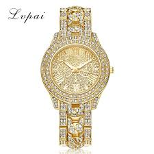 diamond stainless steel bracelet images Lvpai luxury diamond watches women fashion brand stainless steel jpg