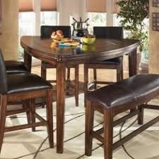 triangle shaped dining table triangle dining set jofran boynton brown 54x54 triangle counter