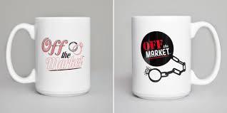 His And Her Mug Say