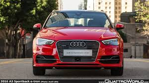 audi a3 price 2016 audi a3 sportback e tron pricing announcement quattroworld