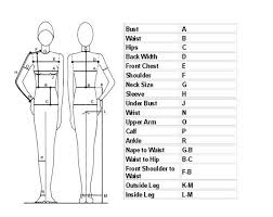 best 25 body measurement chart ideas on pinterest sewing online