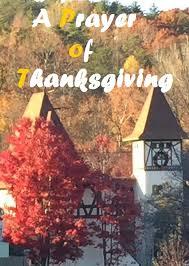 homespun devotions a prayer of thanksgiving
