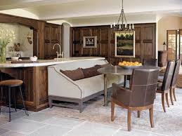 Home Design Ideas Home Design - Kitchen island dinner table