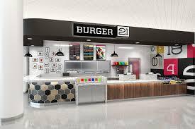 kb home design center ta burger 21 highlights modern appeal with new restaurant design