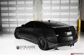 cadillac cts coupe rims black edition cadillac cts v coupe lowered on strasse