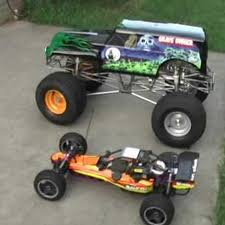 grave digger radio control monster truck rcwizzard youtube