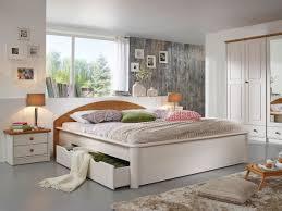 Bett Im Schlafzimmer Nach Feng Shui Schlafzimmer Set 4teilig Kiefer Massiv Weiß Gewachst