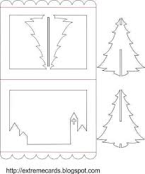 Christmas Pop Up Card Templates Free Download
