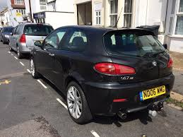 alfa romeo 147 ti 67k black 2006 in hove east sussex gumtree