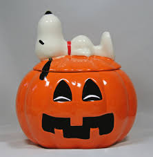 snoopy ceramic halloween candy jar snoopn4pnuts com