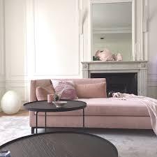 deco table rose et gris design d u0027intérieur de maison moderne decoration salon rose et