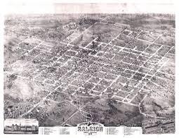 Raleigh Nc Map Mc 195 R163 1872d3 Bird U0027s Eye View Of Raleigh 1872 Flickr