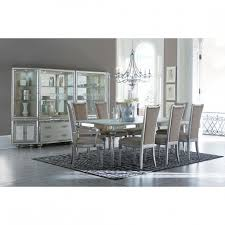 michael amini dining table aico michael amini bel air park 4 leg dining table set in with