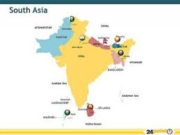 map of asia countries and cities south asia maps countries capitals provinces south asia map