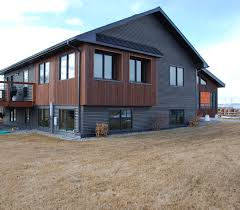architecture bridger steel roofing and siding with glass windows
