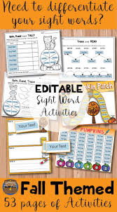 1259 best primary grade sight word fun images on pinterest