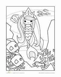 18 preschool mermaids images mermaid