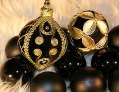 art deco christmas ornaments diy tutorial love that party party