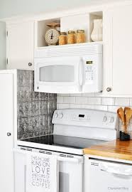Microwave Kitchen Cabinets by Diy Home Decor Ideas Kitchens Stove And House