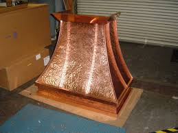 kitchen hood designs ideas how to paint a wooden stove hood to look like copper share your