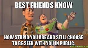 Stupid Friends Meme - 12 friend memes sure to make you smile funny pictures and quotes