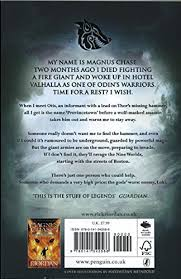 magnus chase and the hammer of thor book 2 amazon co uk rick
