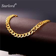 ankle bracelet gold images Starlord foot jewelry ankle bracelet for women gold color cuban jpg