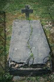 tombstones for cemetery with statues and marble tombstones for the