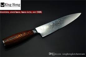 kitchen knives japanese 2017 xinghong 8 inch chef knife japanese vg10 damascus steel