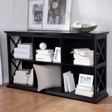 Unfinished Bookshelf Interior Fabulous Oak Unfinished Two Tier Shelf Low Bookcase