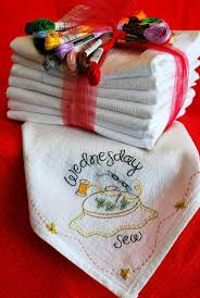 132 best days of the week dish towels images on pinterest dish