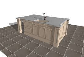 free 3d sketchup kitchen island counter models download 3d