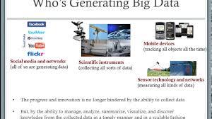introduction to big data analytics youtube