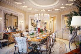 luxury villa interior design 2017 of dining room classic french