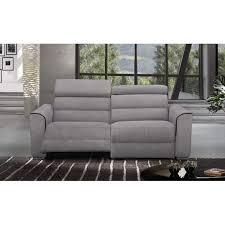 canapé relax electrique 2 places canapé relax électrique en cuir ou tissu au meilleur prix confort