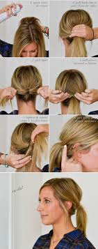 hair tutorials for medium hair the 25 best messy ponytail tutorial ideas on pinterest