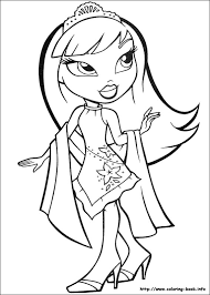 Bratz Colouring Pages Funycoloring Bratz Coloring Pages