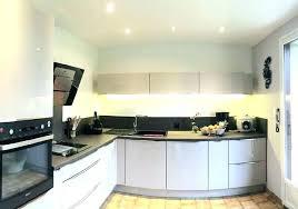 plafond cuisine design lumiere plafond cuisine eclairage distance spot encastrable plafond